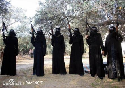 被恐怖分子害的叙利亚美女