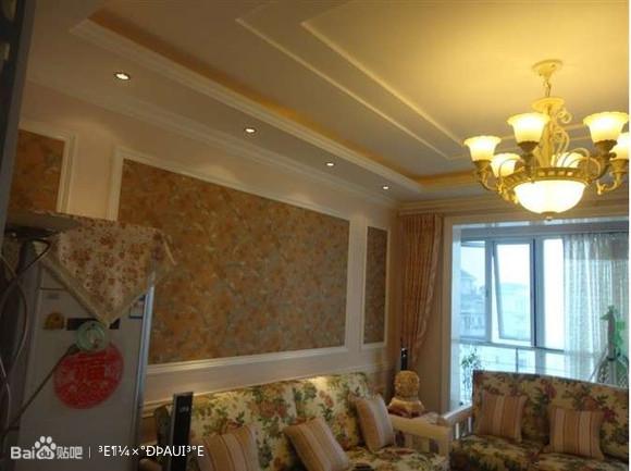 顶角线、挡椅线、以及欧式家具等元素从整体上烘托出简欧豪华高清图片