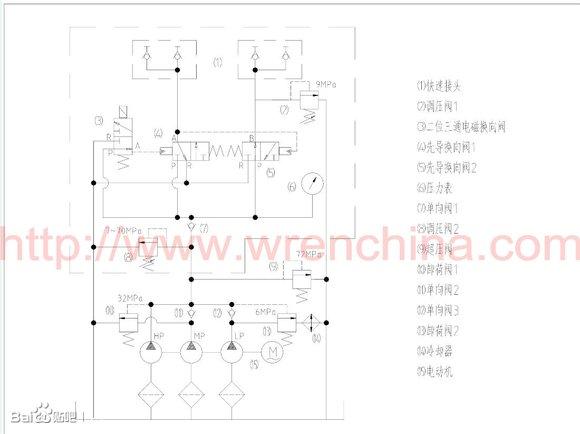 雷恩klw4000液压泵原理图图片