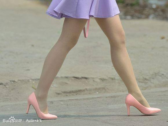 粉红高跟肉丝极品 恋袜足吧