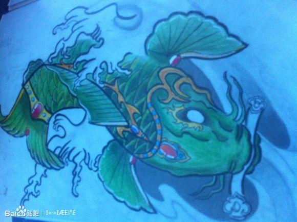 ... 鲲鹏纹身_上古神兽鲲鹏纹身图,上古神兽鲲鹏图片