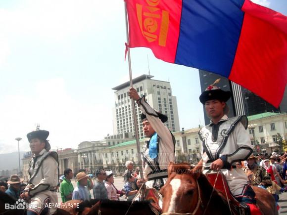 蒙古国人国旗_蒙古天骄吧图片
