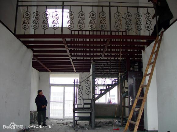 隔层搭建钢结构阁楼