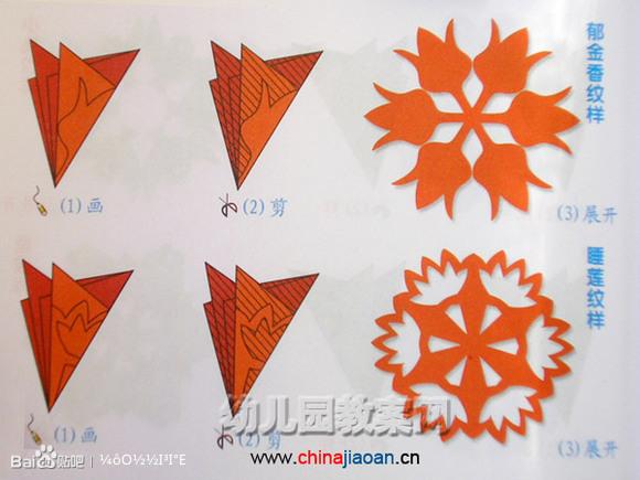 剪纸教程图解简单