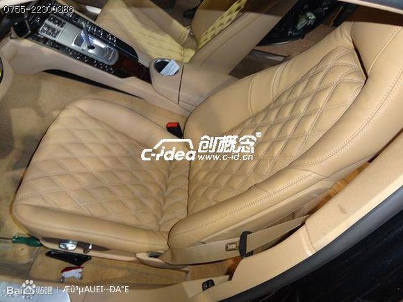 按键还原.改装真皮座椅是汽车升级项目中最简单又最见效果的高清图片