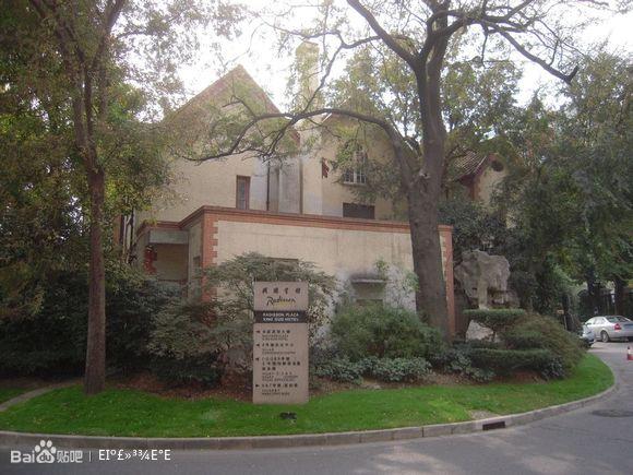风格各异的欧式别墅建筑,是兴国路72号大院内13幢别墅建筑的高清图片