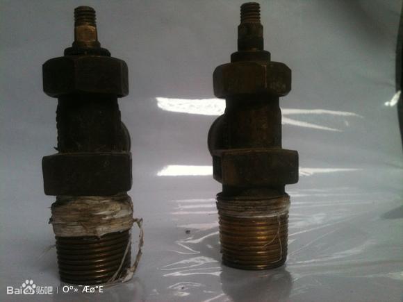出售旧液化气瓶角阀图片