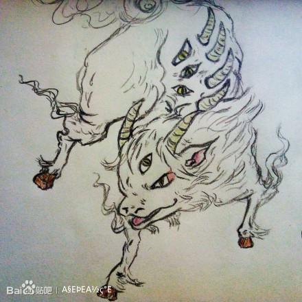 中国古代异兽_魔兽世界吧图片