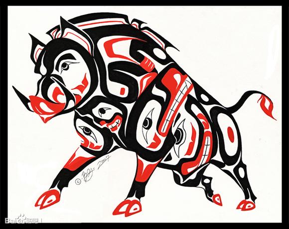 玛雅图腾纹身图案_学纹身吧图片