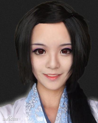 渣教程】神乐cosplay妆面_神乐吧_百度贴吧