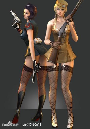 话说风暴战区韩服的女角色和cf的差不多 高清图片