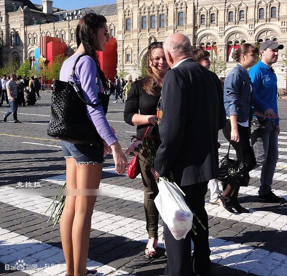 到处都是高个子美女的俄罗斯