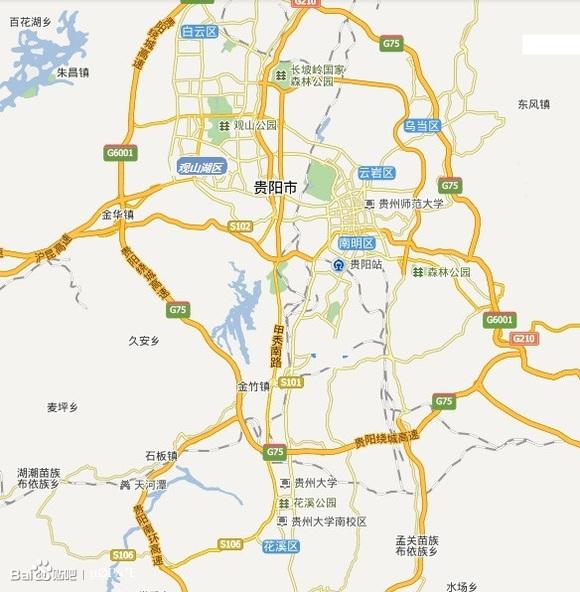 贵阳行政区域划分