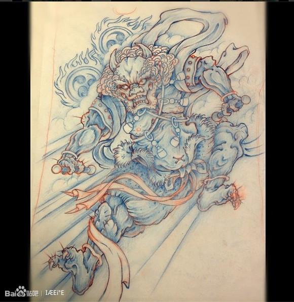 日本横滨传统刺青师 yokohama图片