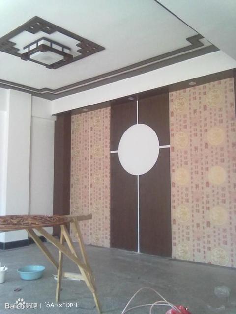 大连山岚装饰专业刮大白 二手房翻新贴壁纸 大连装修吧 百高清图片