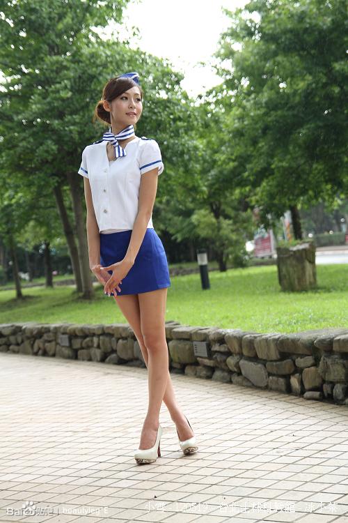 美女winnie 空姐制服的诱惑 竖