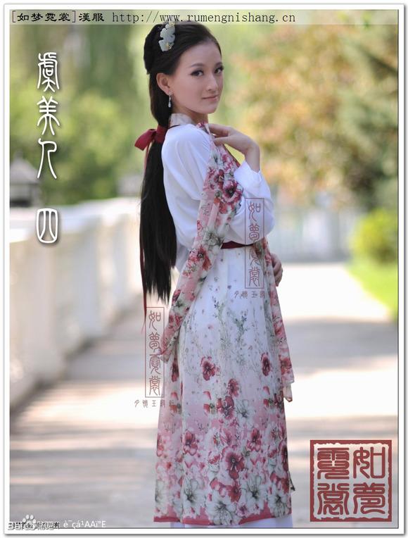 【璇玑特辑】汉服艺术片――如梦霓裳汉服虞美人4