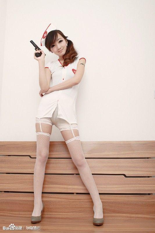 12】小护士的白丝网袜