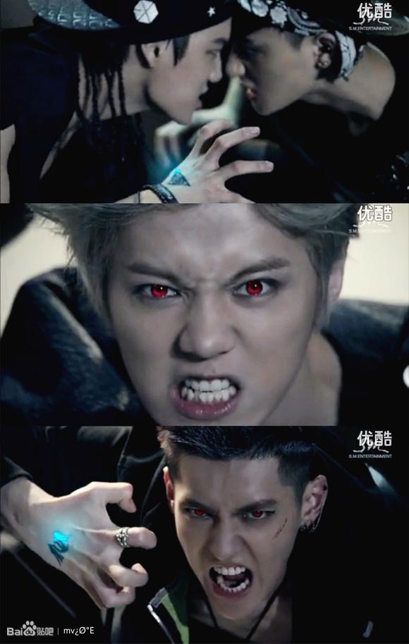 『i★mv』『exo』狼与美女wolf