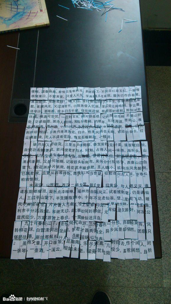 碎纸片纵切拼接复原_