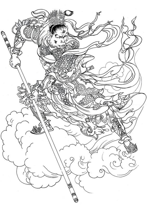 孙悟空画的圈为何能阻挡妖魔鬼怪?原来和金箍棒的真实图片