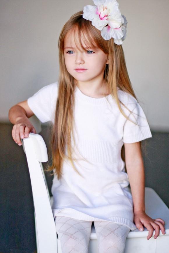 【图片】俄罗斯儿童模特Kristina Pimenova克里