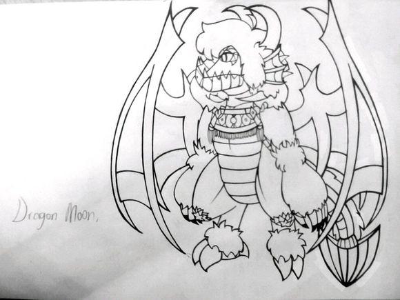 【画师部落★原创】龙绘图练习图片