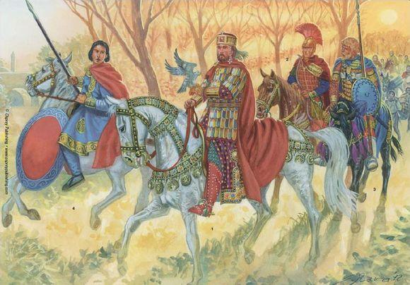 拜占庭马其顿王朝三位战神的竞技场 二