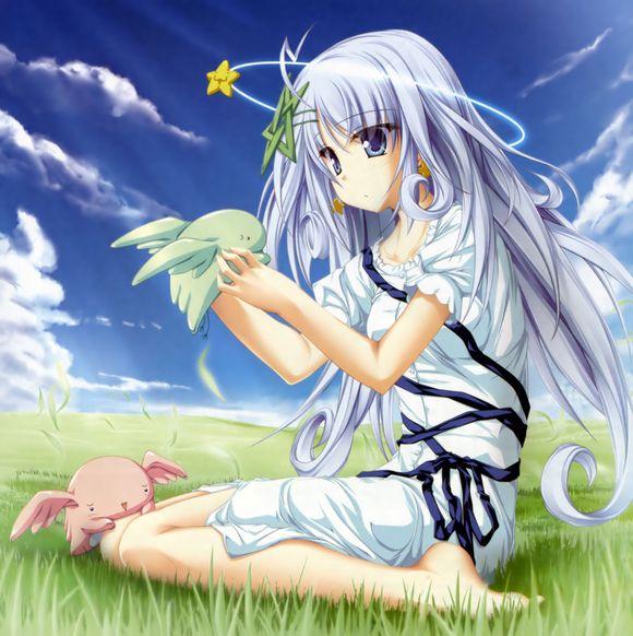 求图】求银发蓝眸的动漫女子图片_动漫图片吧 ...