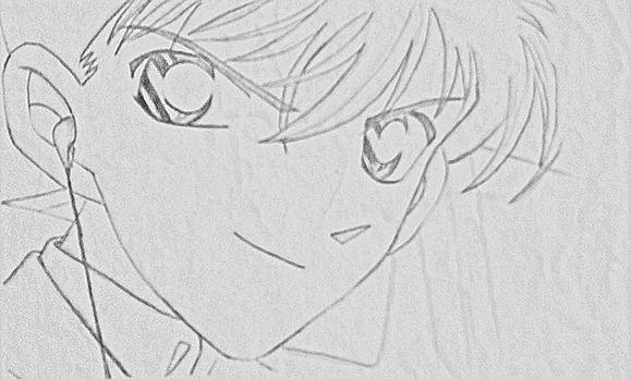 【业余爱好者】手绘古风美女(铅笔画)新人求赞图片