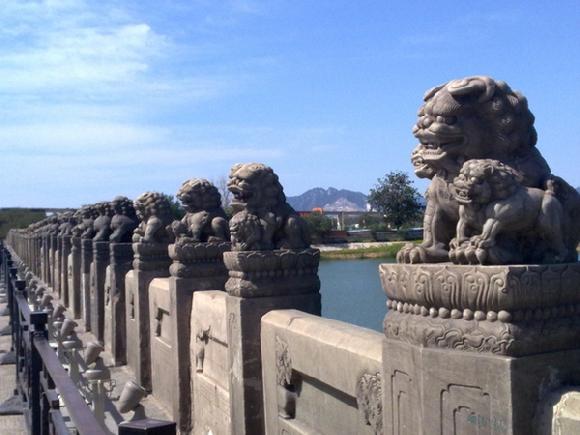狮子比卢沟桥的多图片