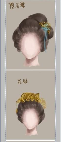 古代女子发型 看古代小说中描写发型时你可以有个