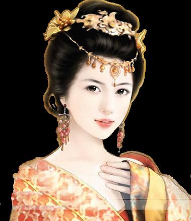 【素材】古代美女立绘素材