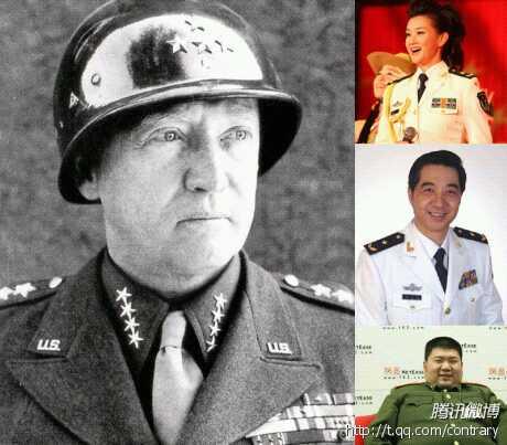 中美女将军对比 柘城吧