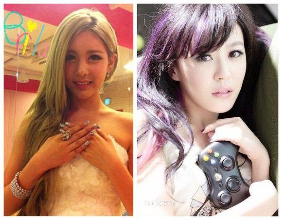 【直播】中国top100美女vs韩国top100