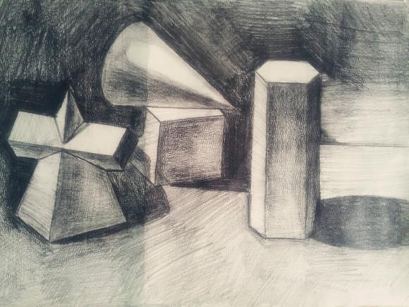 喜欢画画我的临摹图