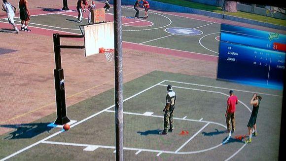 直播篮球公园