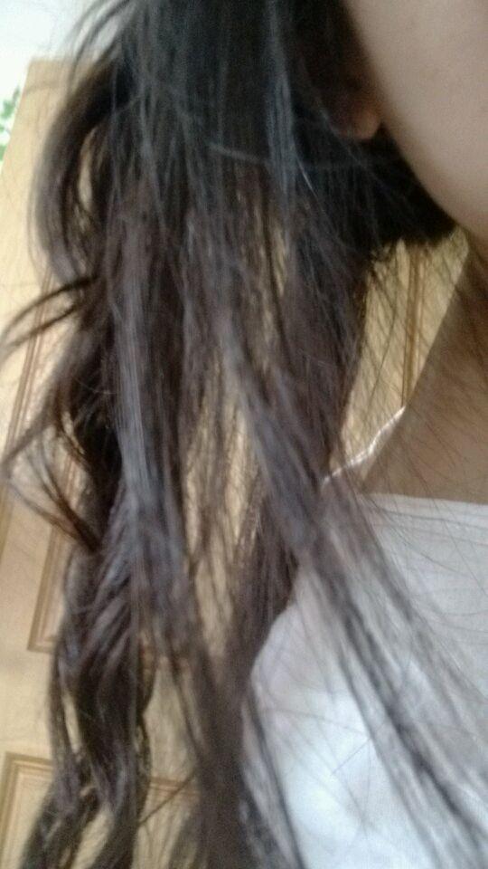 第一次弄头发图片