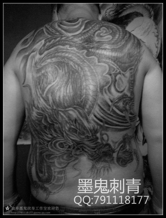 《《《山东曲阜墨鬼纹身最新作品集》》》图片