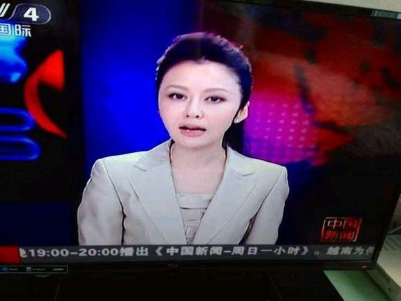 想艹cctv4中国新闻女主持人