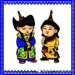 蒙古各部落饰