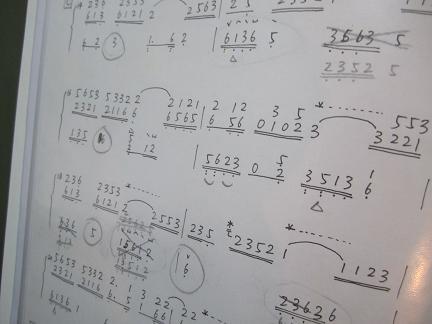 找到原音乐的权威钢琴五线谱-译成简谱-找一个古筝版图片