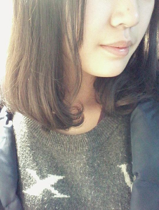 【嗷嗷】我把头发剪短了好多好多!图片