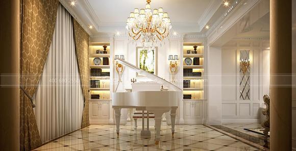 法式装修风格,打造浪漫风情别墅生活图片