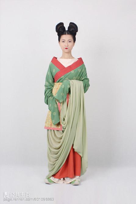中国古代妆束】北齐 襦裙 少女