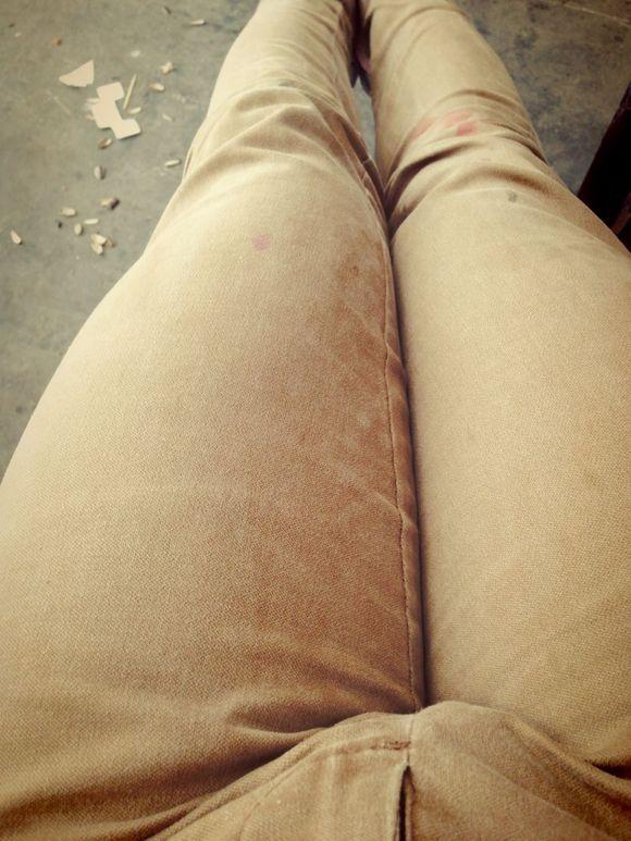 这是女人腿还是男人的?