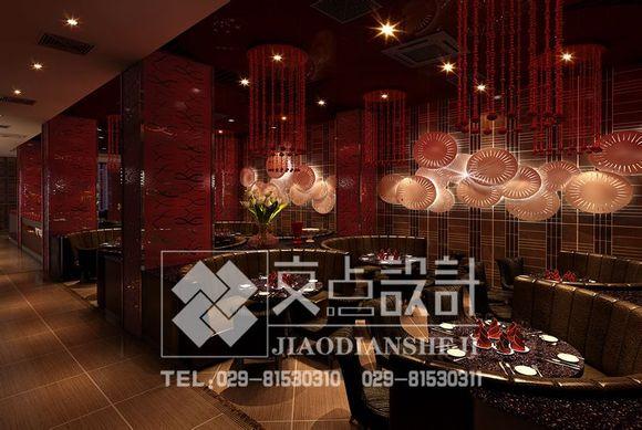 【交点设计】餐饮设计要求具有一定的文化内涵_交点空间高清图片