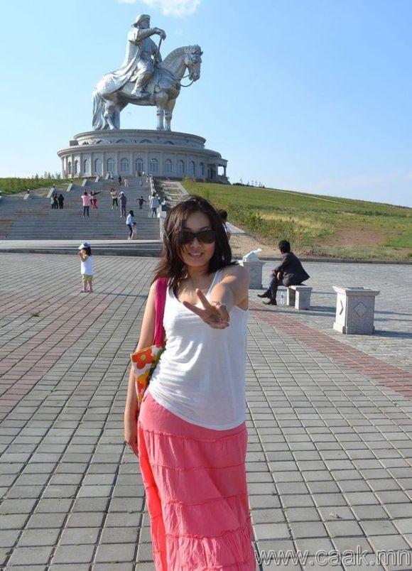 蒙古国美女 多图
