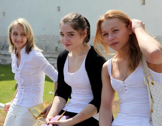 【冰美人科莫娃】我的俄罗斯体操小美女