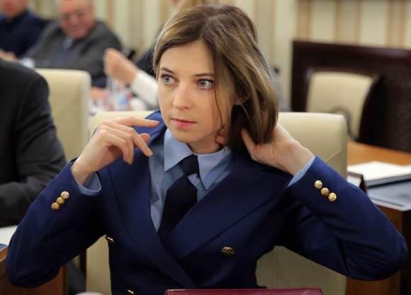 克里米亚辛菲罗波尔 克里米亚美女检察官纳塔利娅